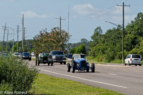 2017 Hemmings Motor News Great Race participants as they leave Jacksonville, Florida, headed to Traverse City, Michigan.[/caption]